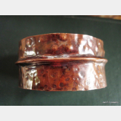 forged tribal cuff bracelet